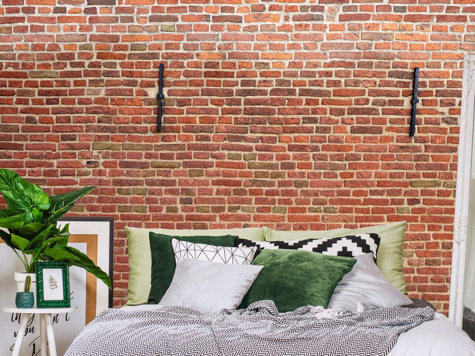 Stenen - Stadsmuur met muurankers 12