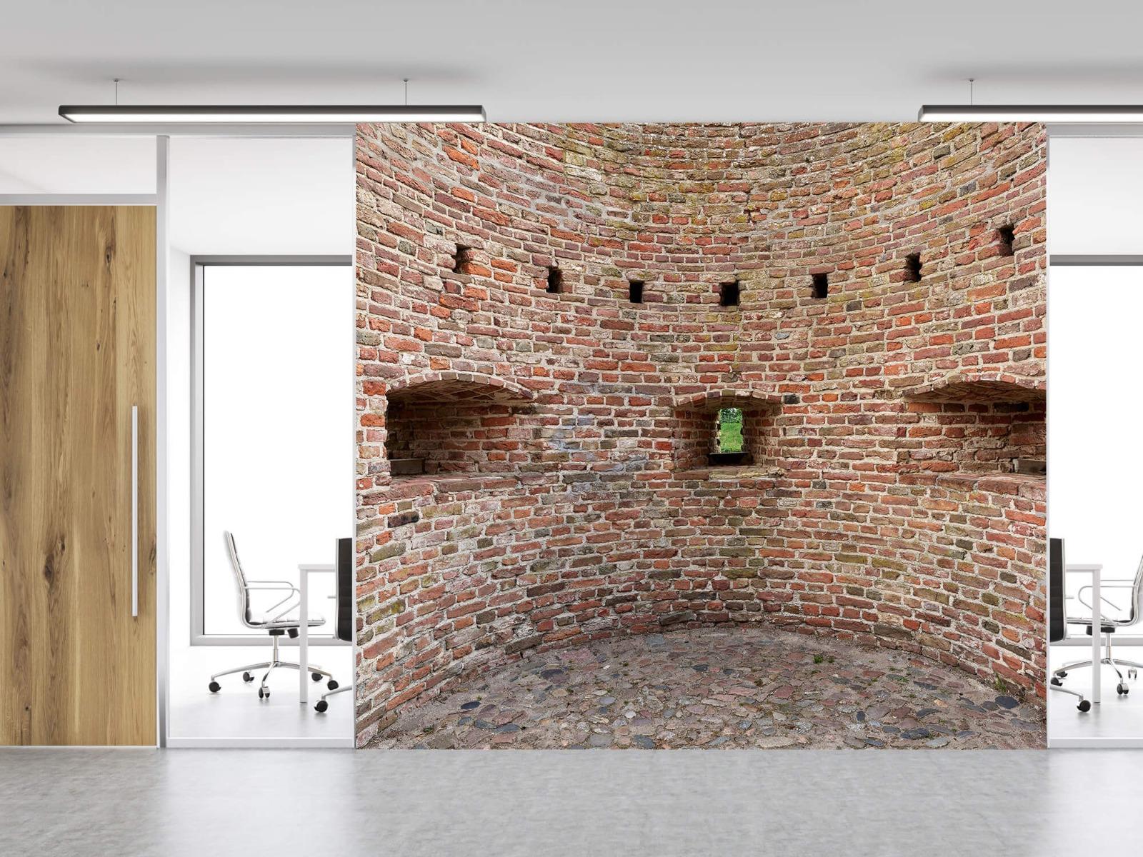 Stenen - Gebogen stadsmuur 14