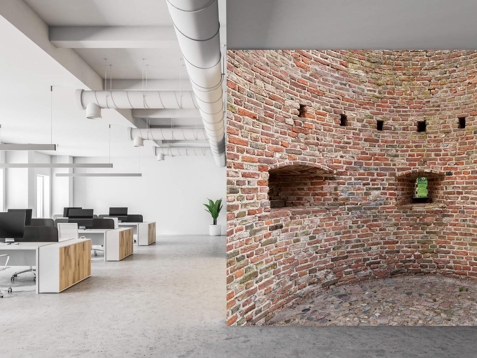 Stenen - Gebogen stadsmuur 3