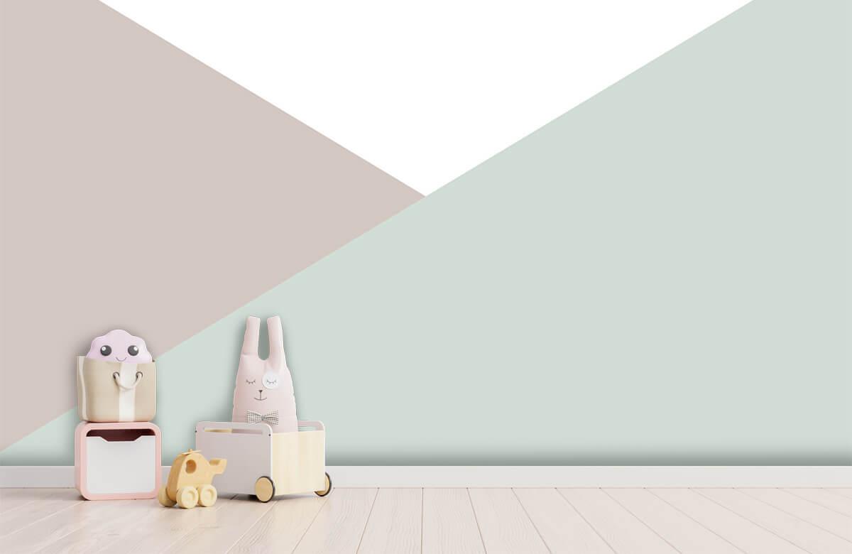 Hip & Trendy Pastelkleurige driehoeken 4
