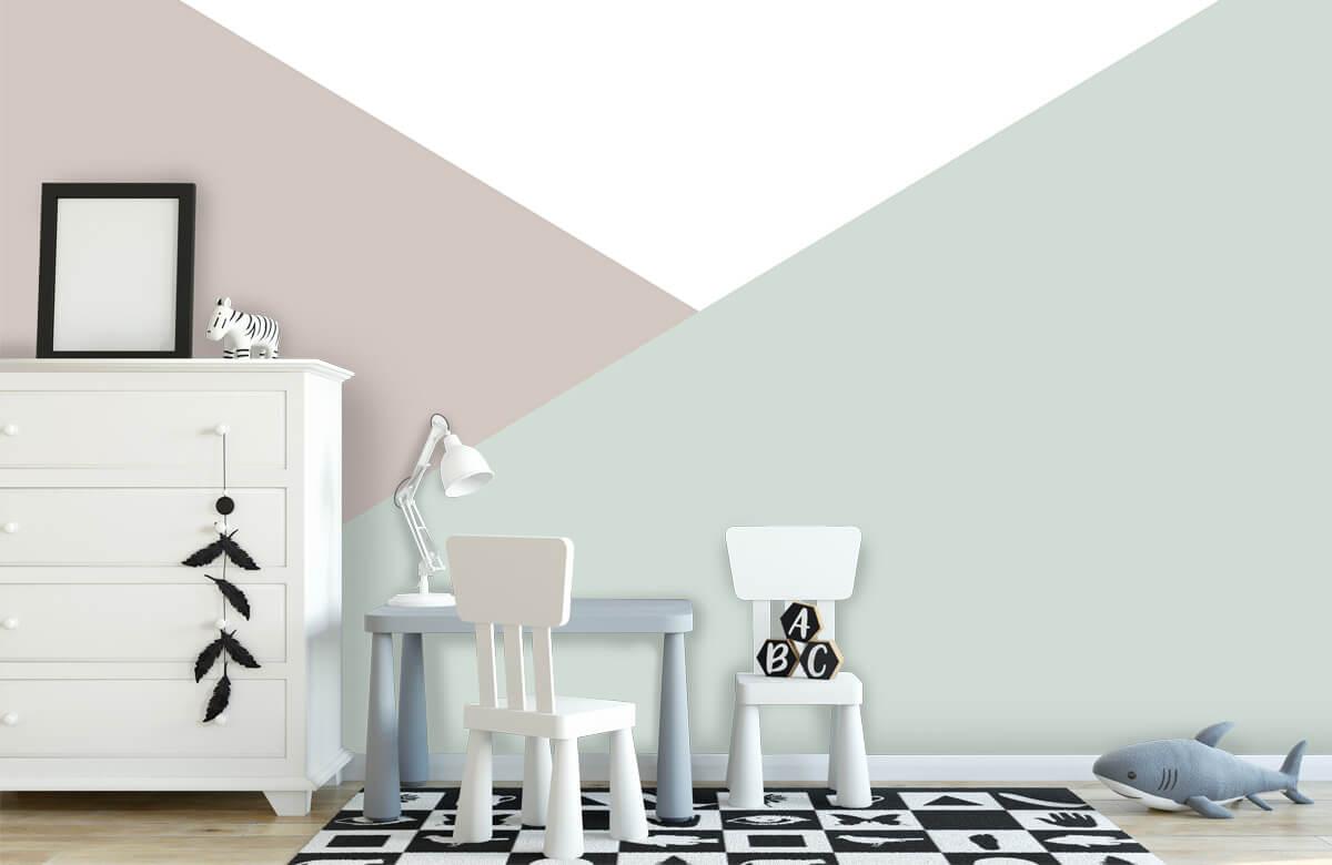 Hip & Trendy Pastelkleurige driehoeken 7