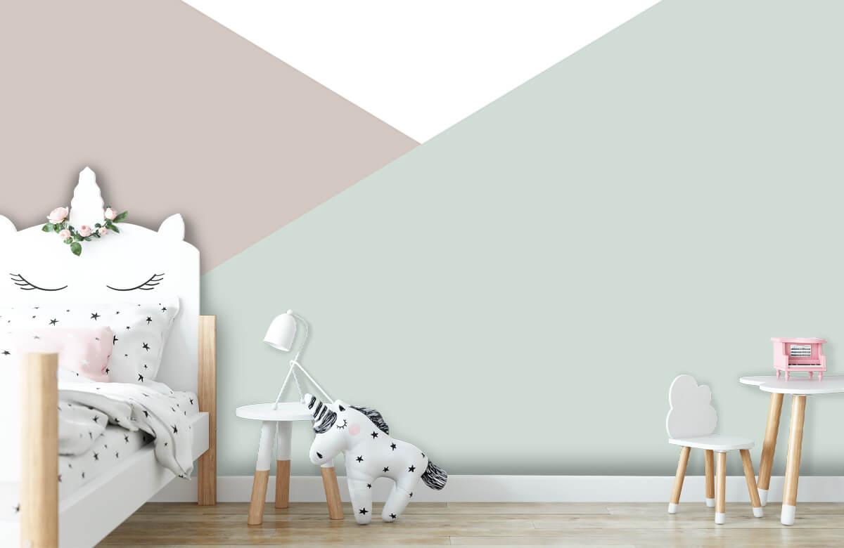 Hip & Trendy Pastelkleurige driehoeken 8