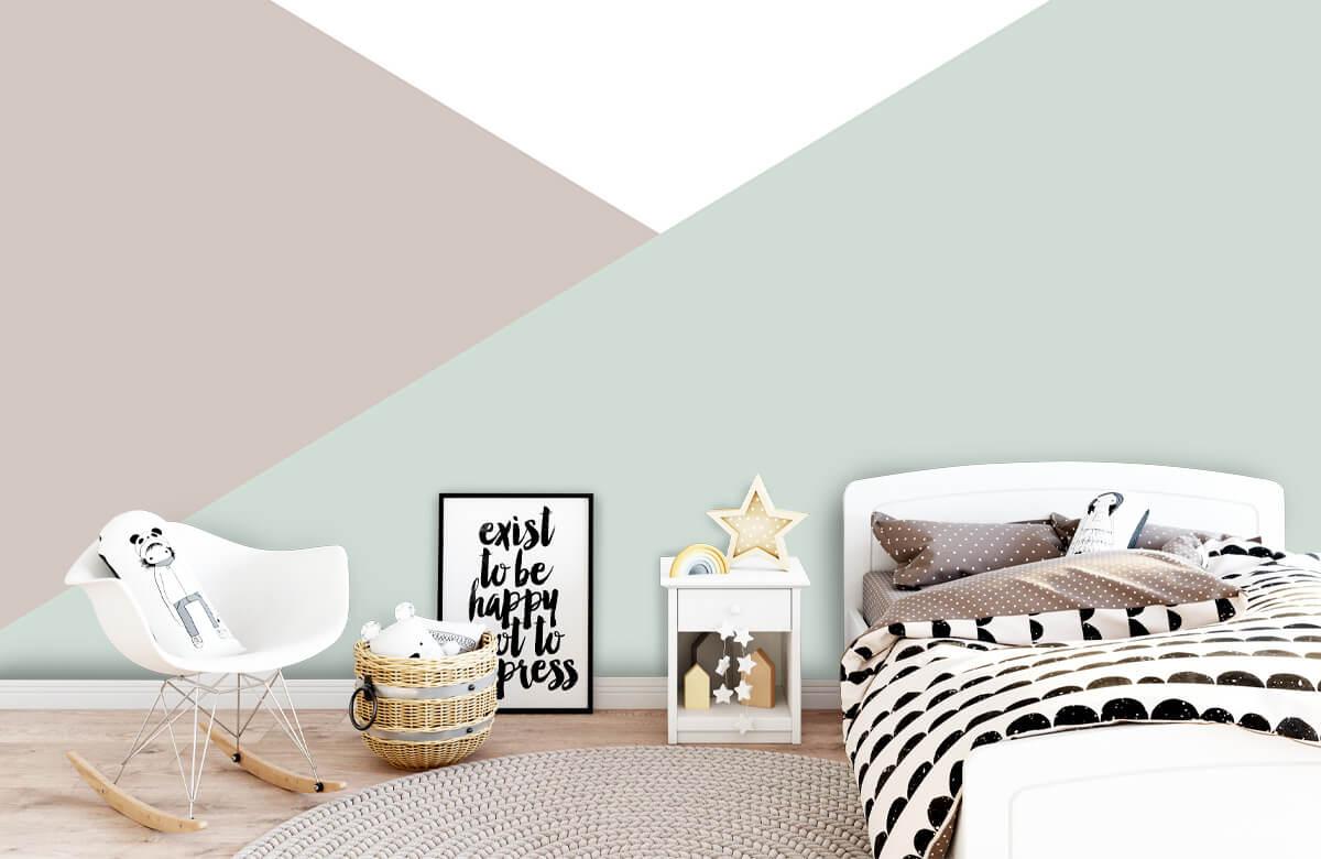 Hip & Trendy Pastelkleurige driehoeken 9
