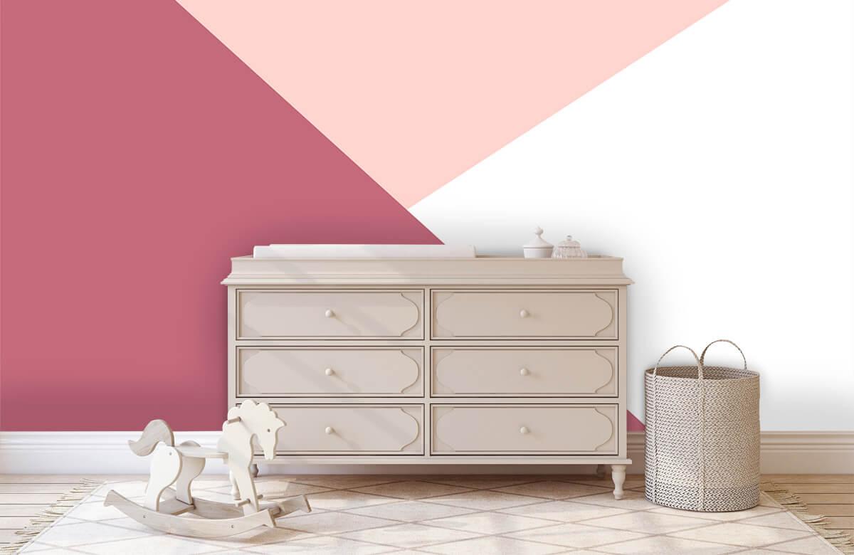 Hip & Trendy Driehoeken in roze tinten 2