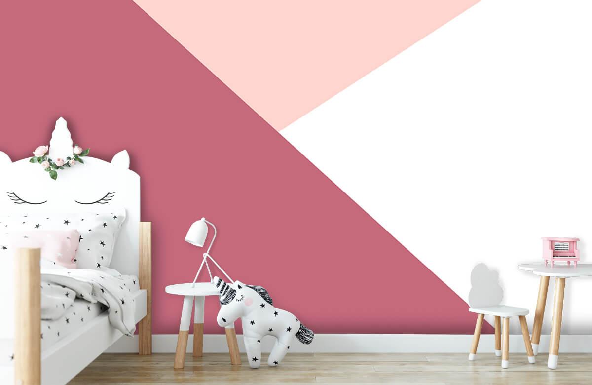 Hip & Trendy Driehoeken in roze tinten 1