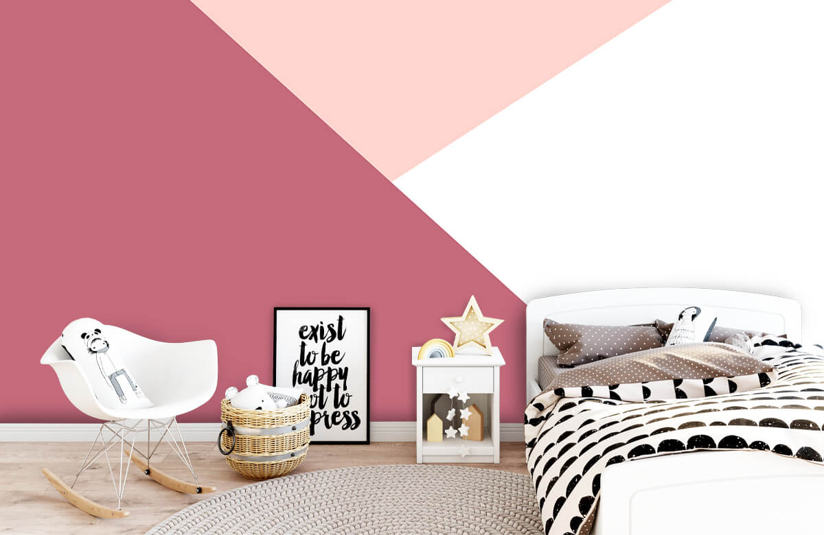 Hip & Trendy Driehoeken in roze tinten 9