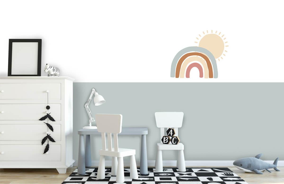Hip & Trendy Regenboog met zon 7
