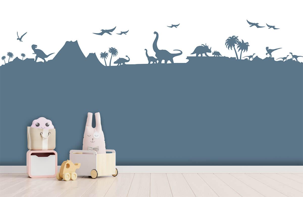 Hip & Trendy Dino silhouetten 4