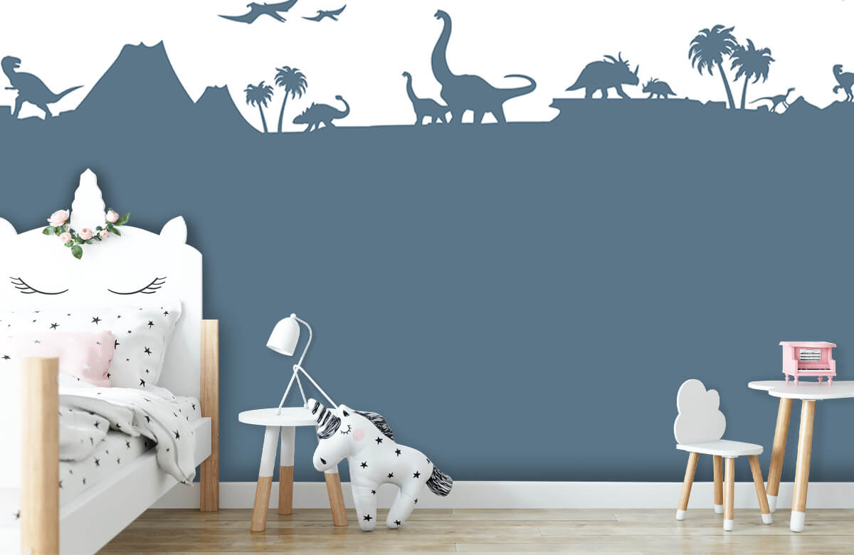 Hip & Trendy Dino silhouetten 8