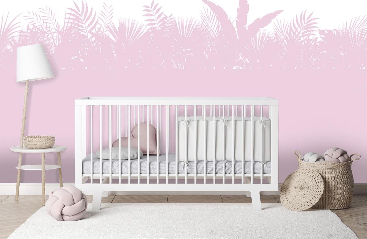 Hip & Trendy Silhouetten palmblaseren, roze 3