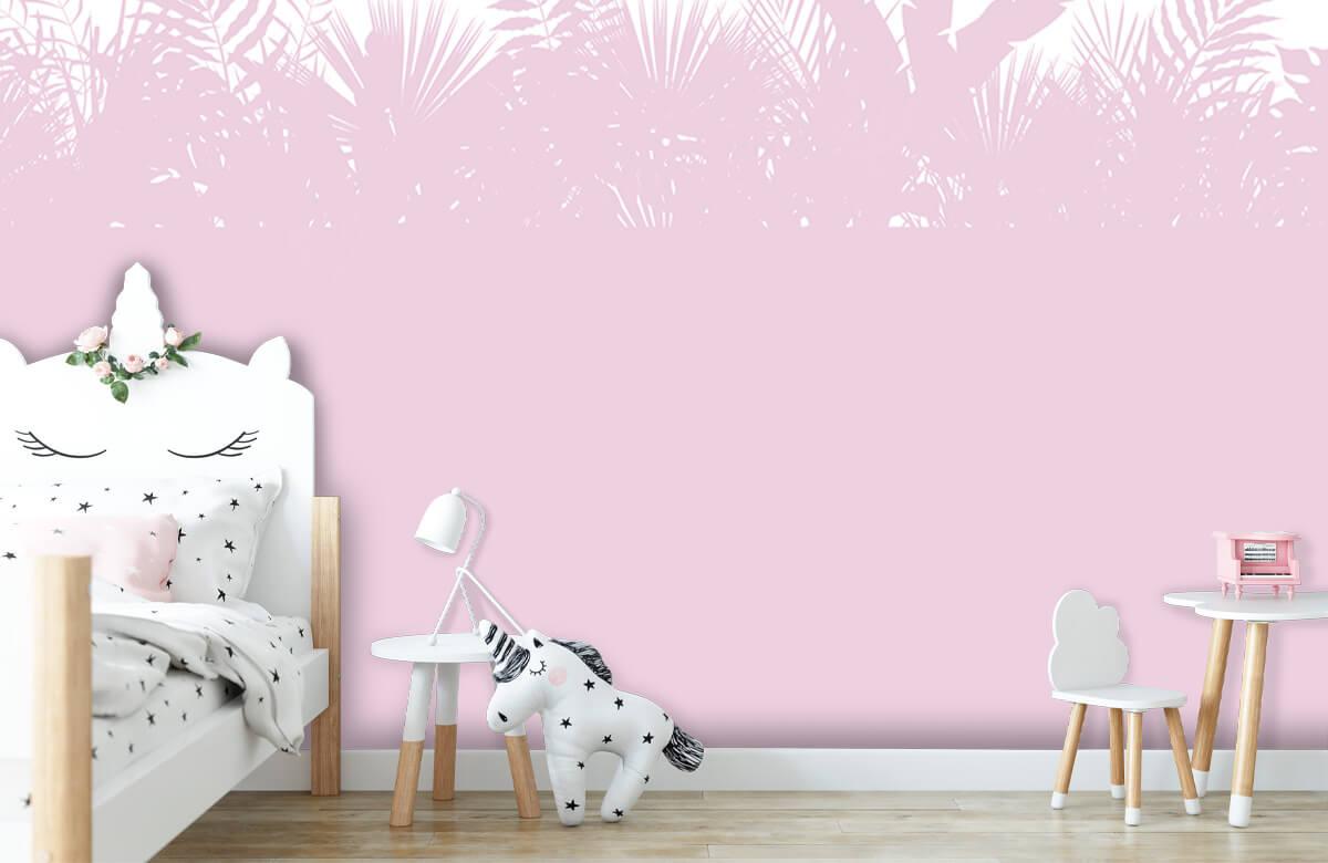 Hip & Trendy Silhouetten palmblaseren, roze 8