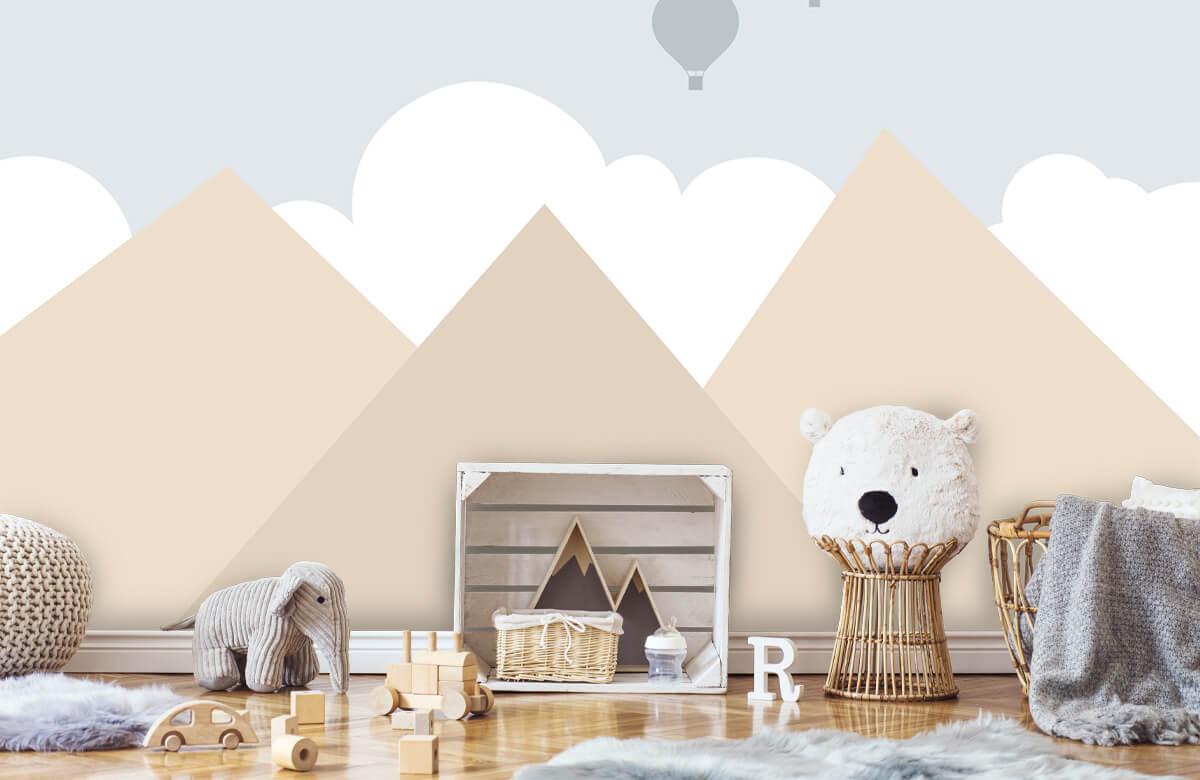 Hip & Trendy Hoge bergen met luchtballonnen 5