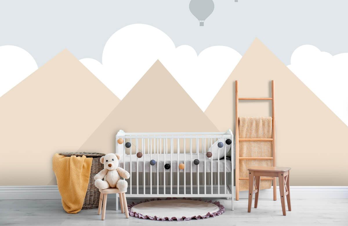Hip & Trendy Hoge bergen met luchtballonnen 6