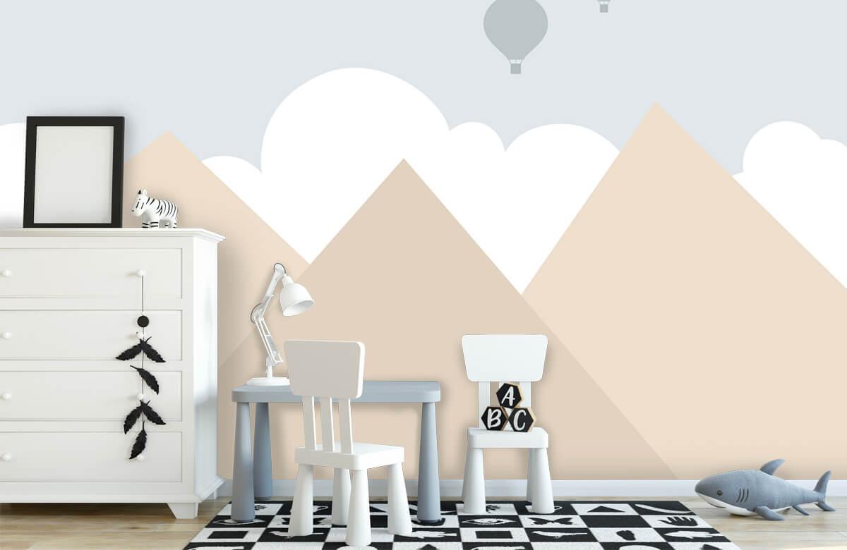Hip & Trendy Hoge bergen met luchtballonnen 7
