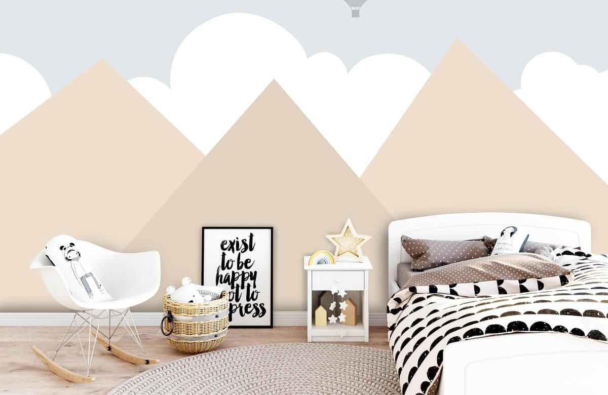 Hip & Trendy Hoge bergen met luchtballonnen 9