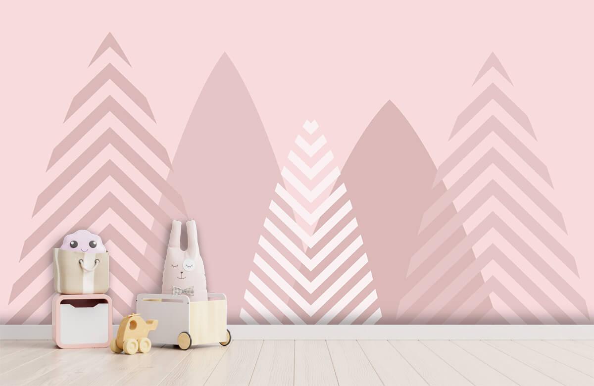 Hip & Trendy Hoge bergen, roze 4