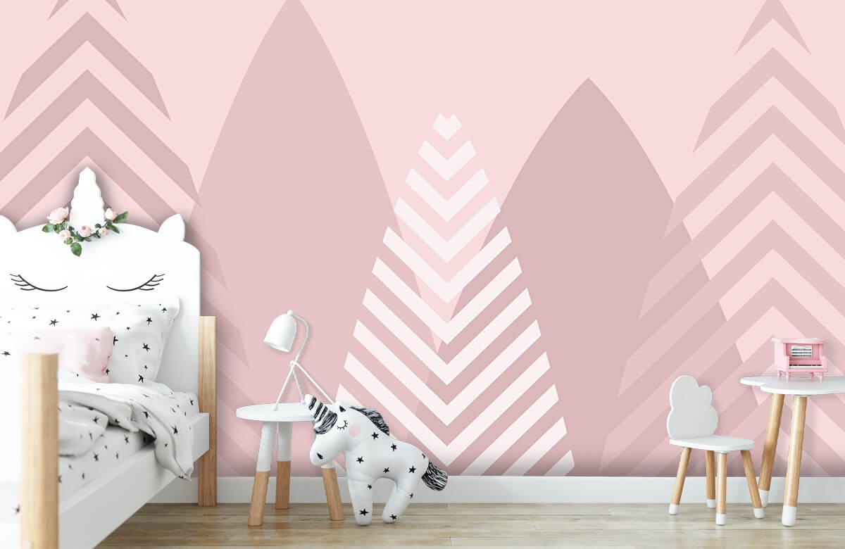 Hip & Trendy Hoge bergen, roze 9