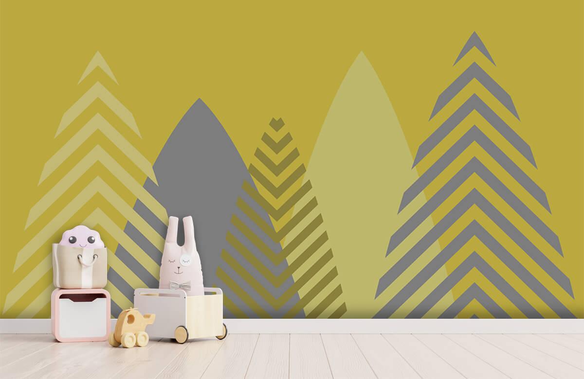 Hip & Trendy Hoge bergen, geel 4