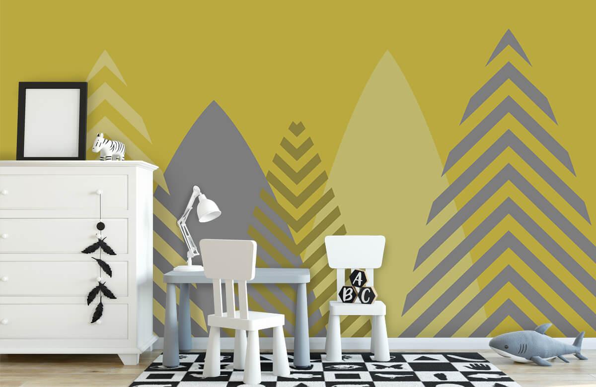 Hip & Trendy Hoge bergen, geel 7