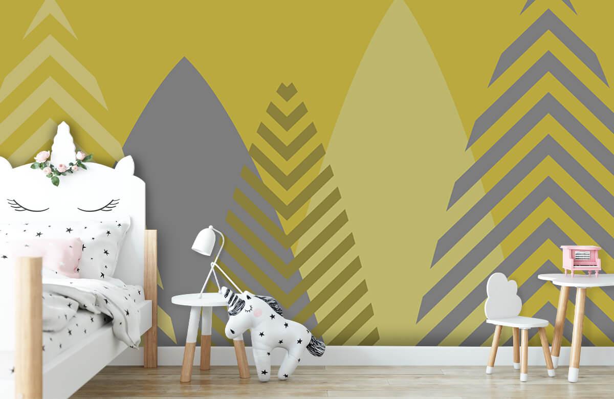Hip & Trendy Hoge bergen, geel 8