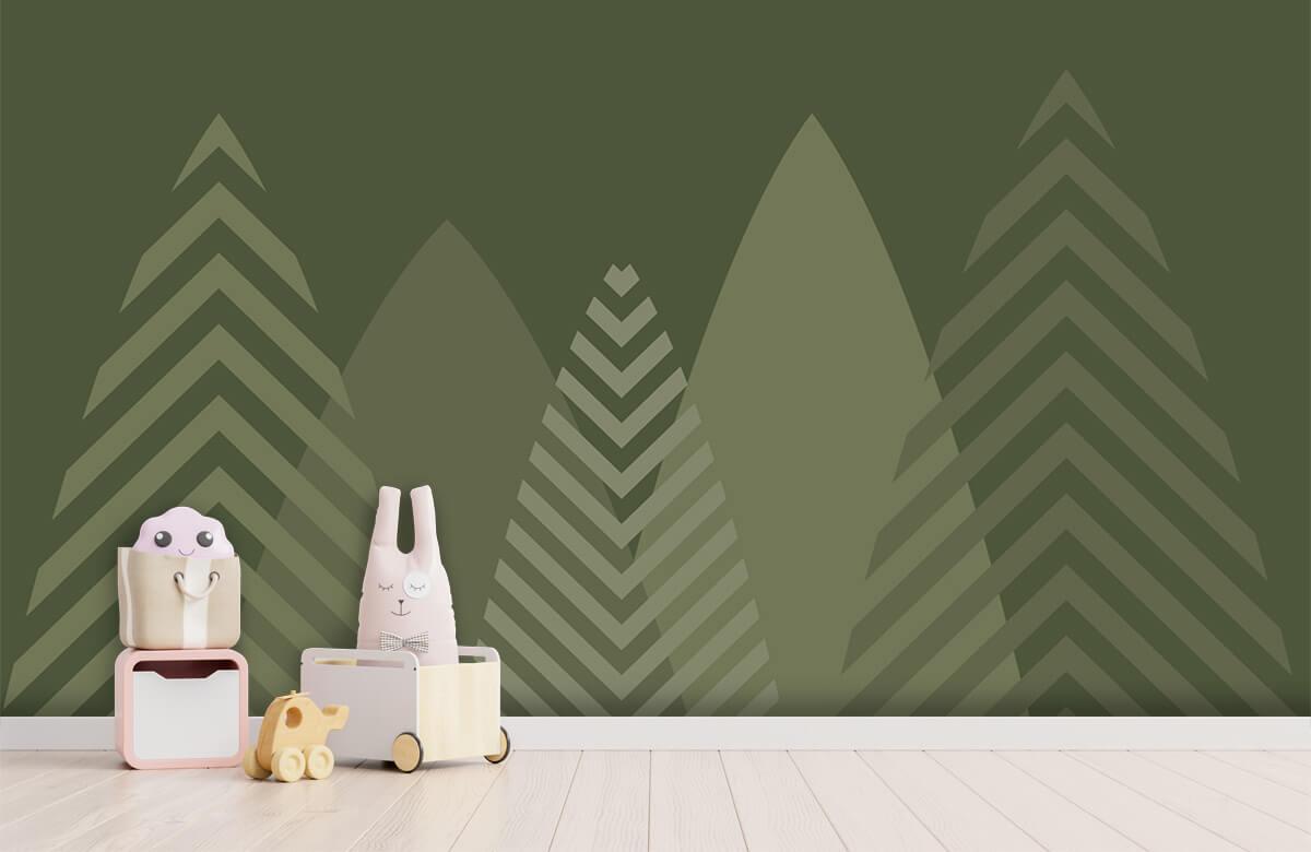 Hip & Trendy Hoge bergen, groen 4
