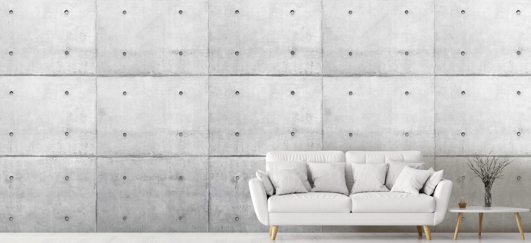 Grijze betonnen platen 6