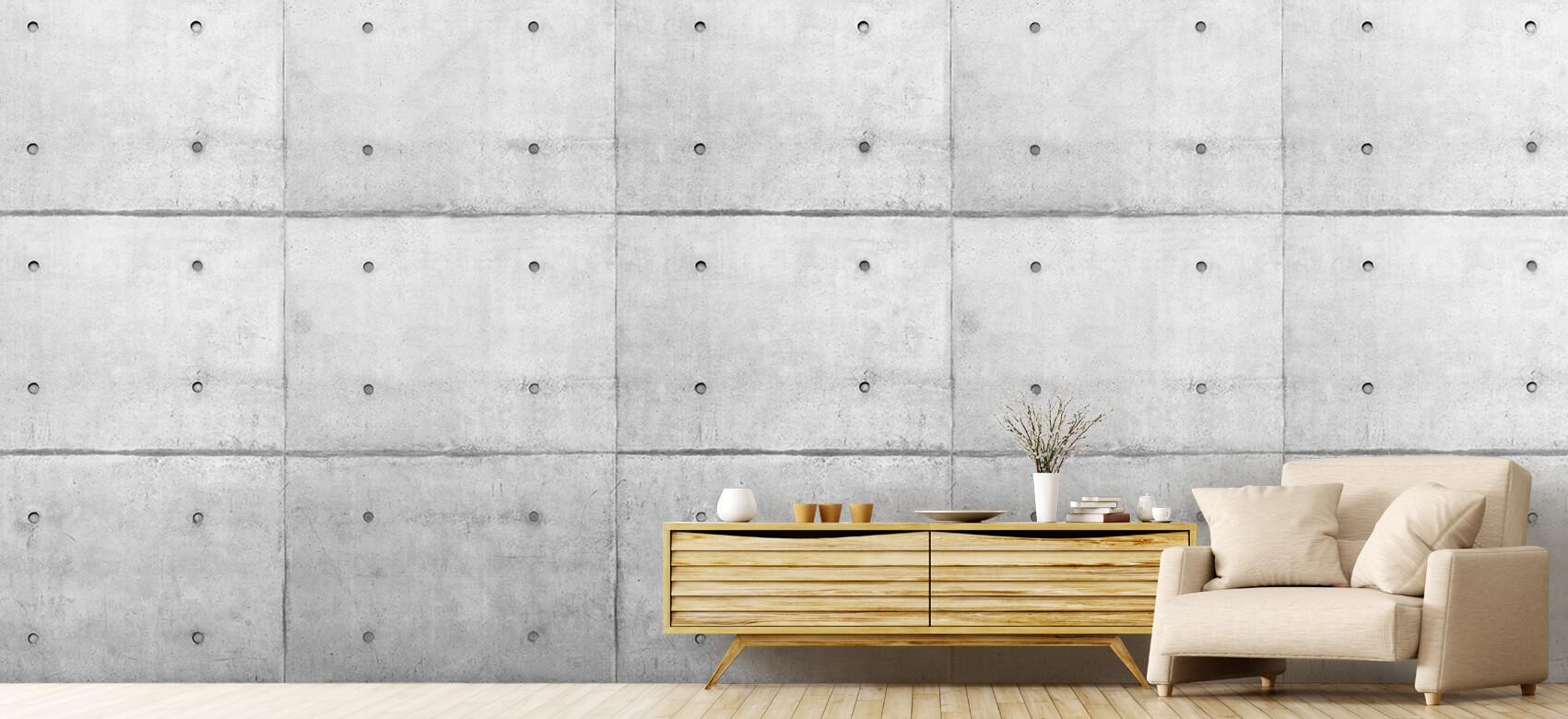 Grijze betonnen platen 8