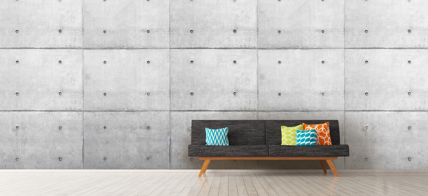 Grijze betonnen platen 12