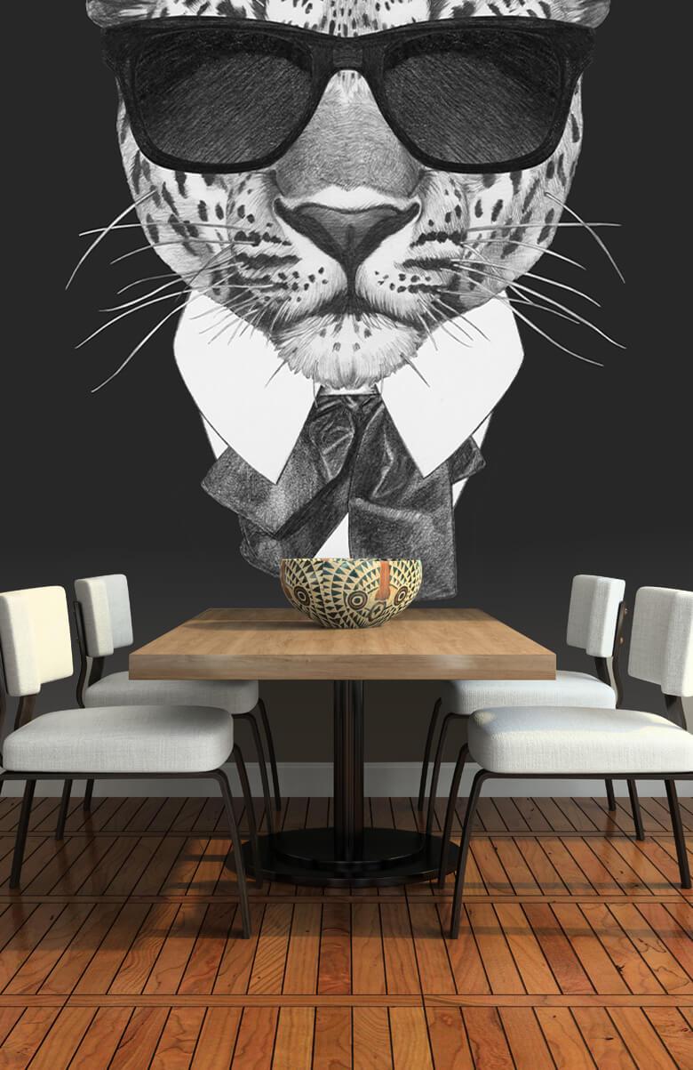 luipaarden Luipaard in pak 6