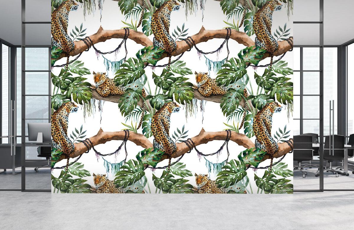 luipaarden Waterverf luipaarden 4
