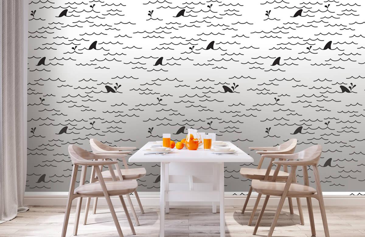 dolfijnen Vinnen patroon 2