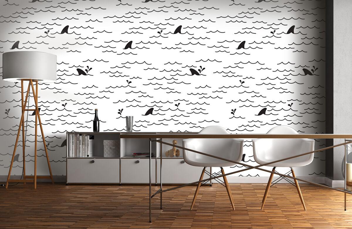 dolfijnen Vinnen patroon 11