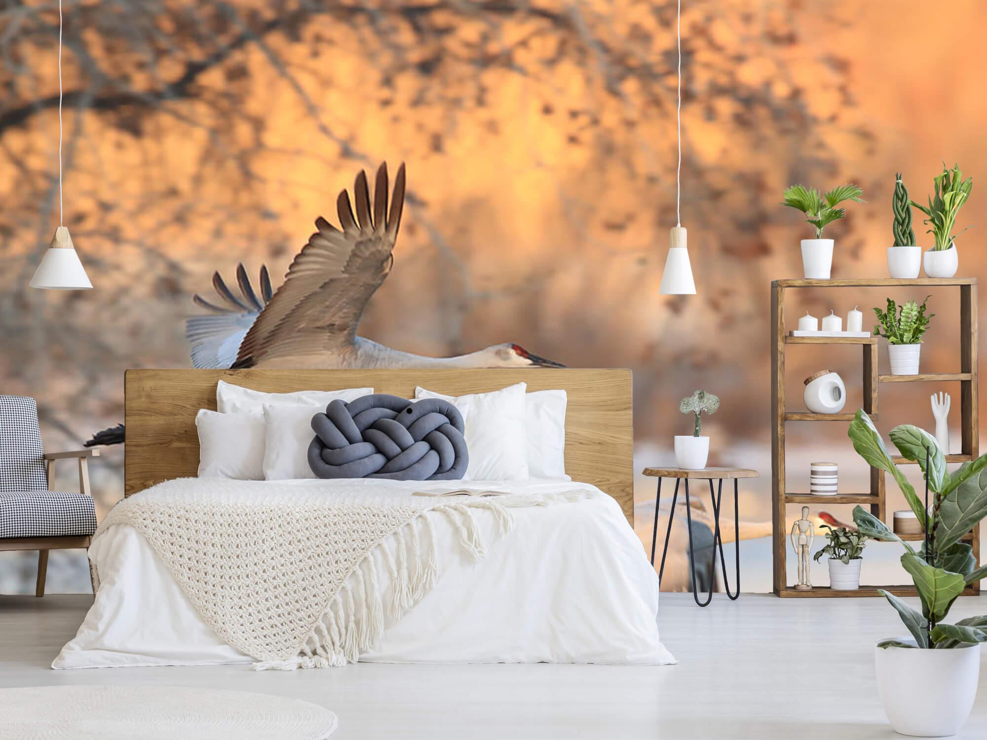 Vliegende kraanvogels 6