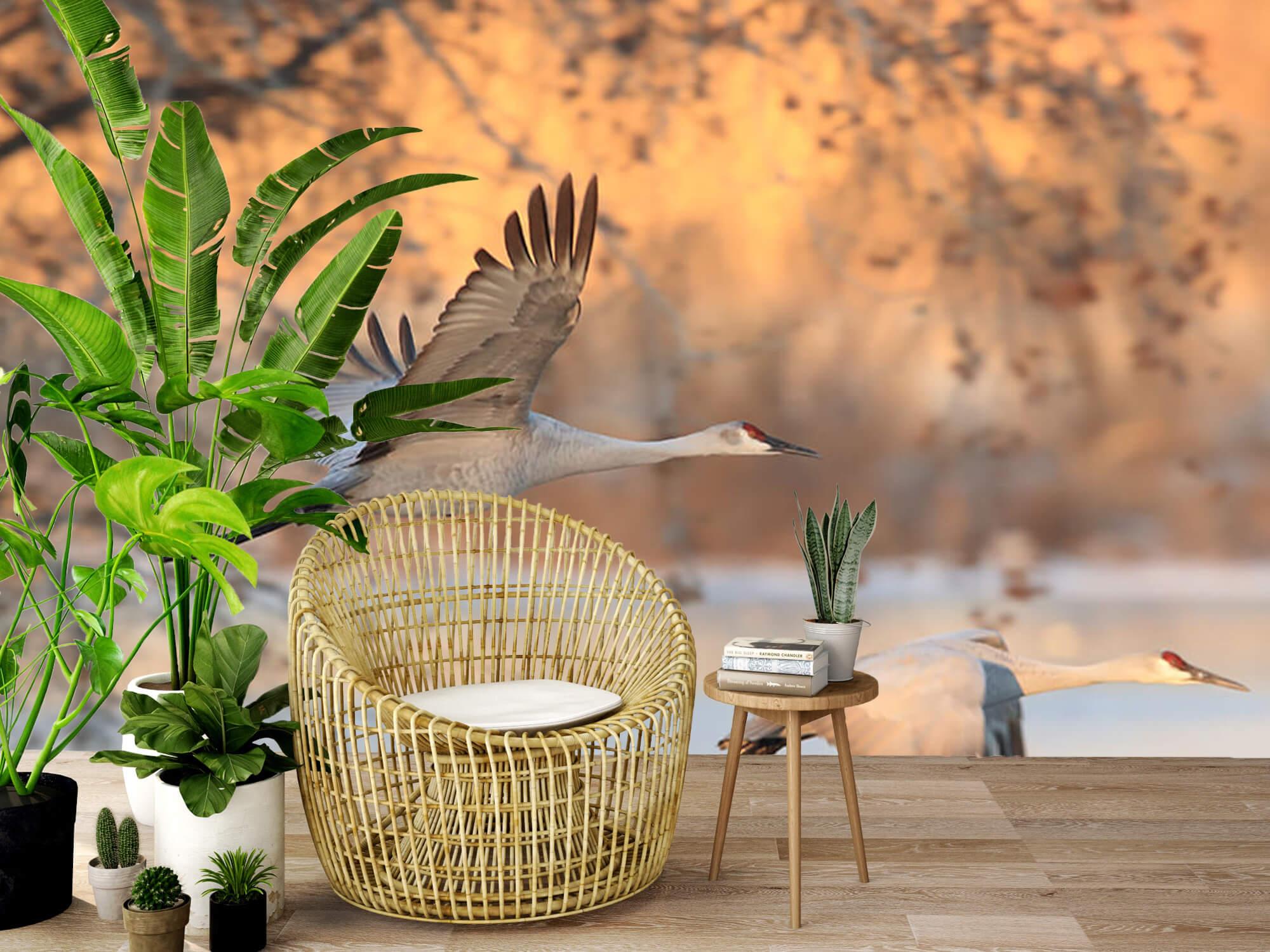 Vliegende kraanvogels 7