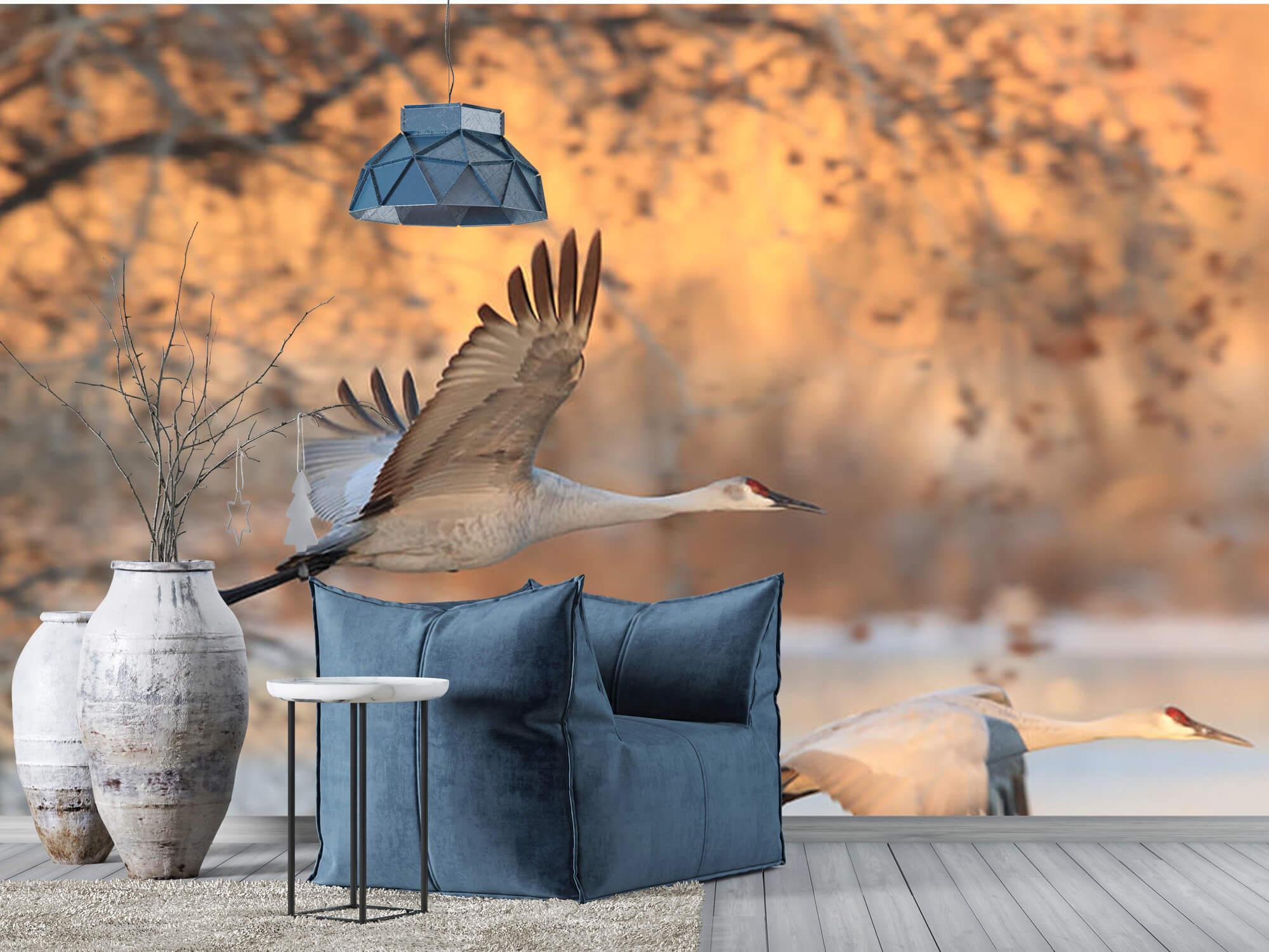 Vliegende kraanvogels 9