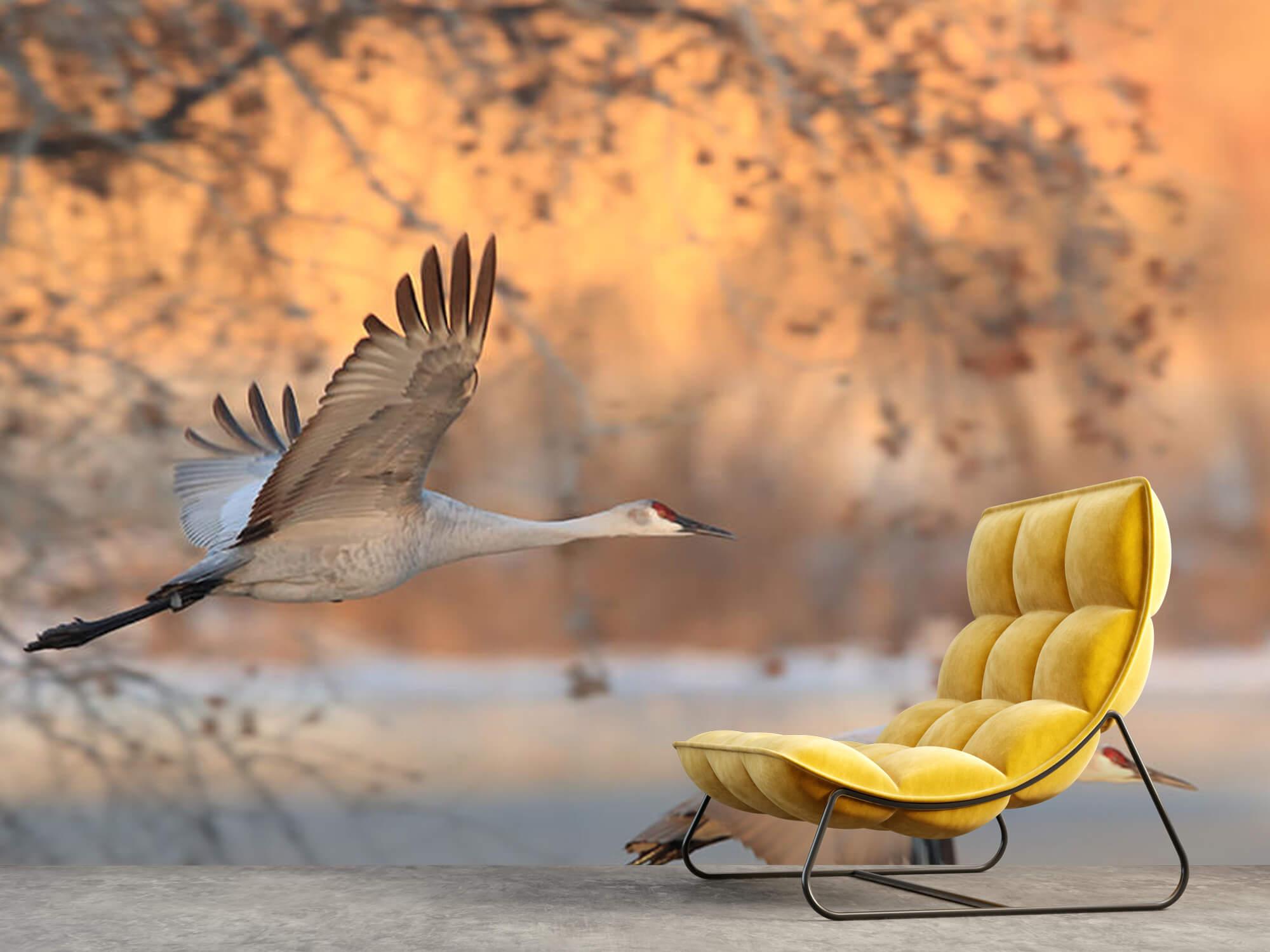 Vliegende kraanvogels 3