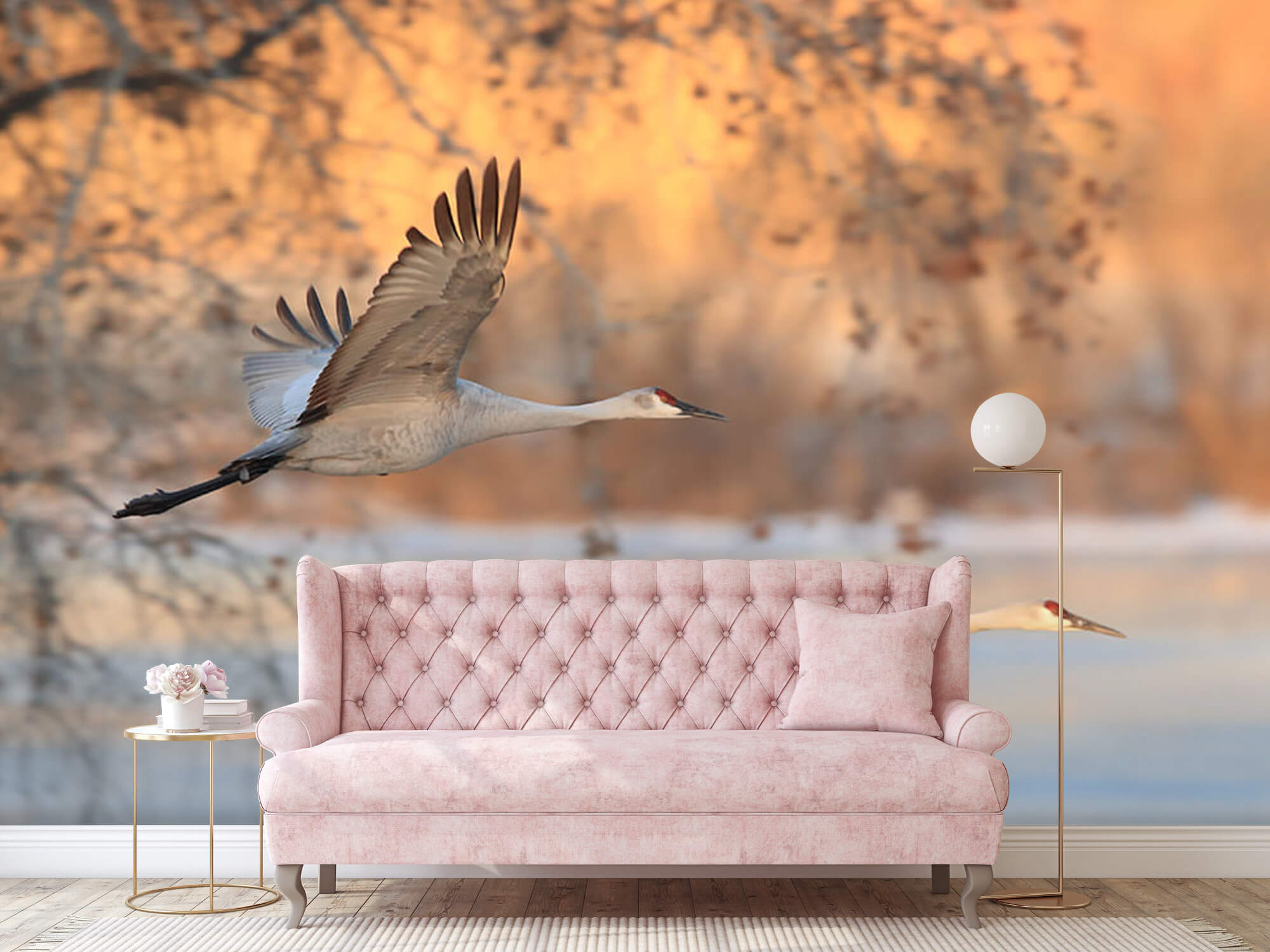 Vliegende kraanvogels 11