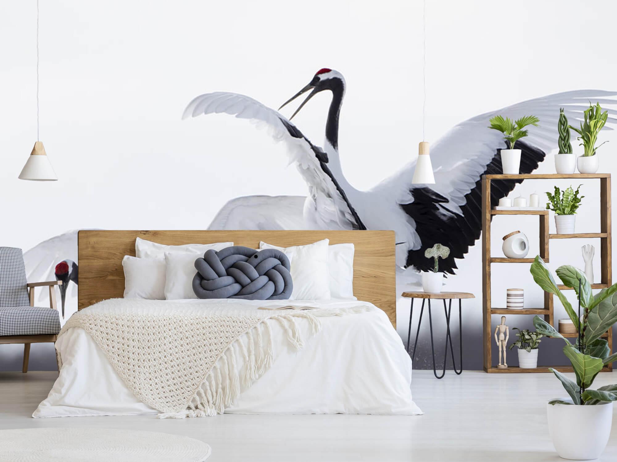 Spelende kraanvogels 6