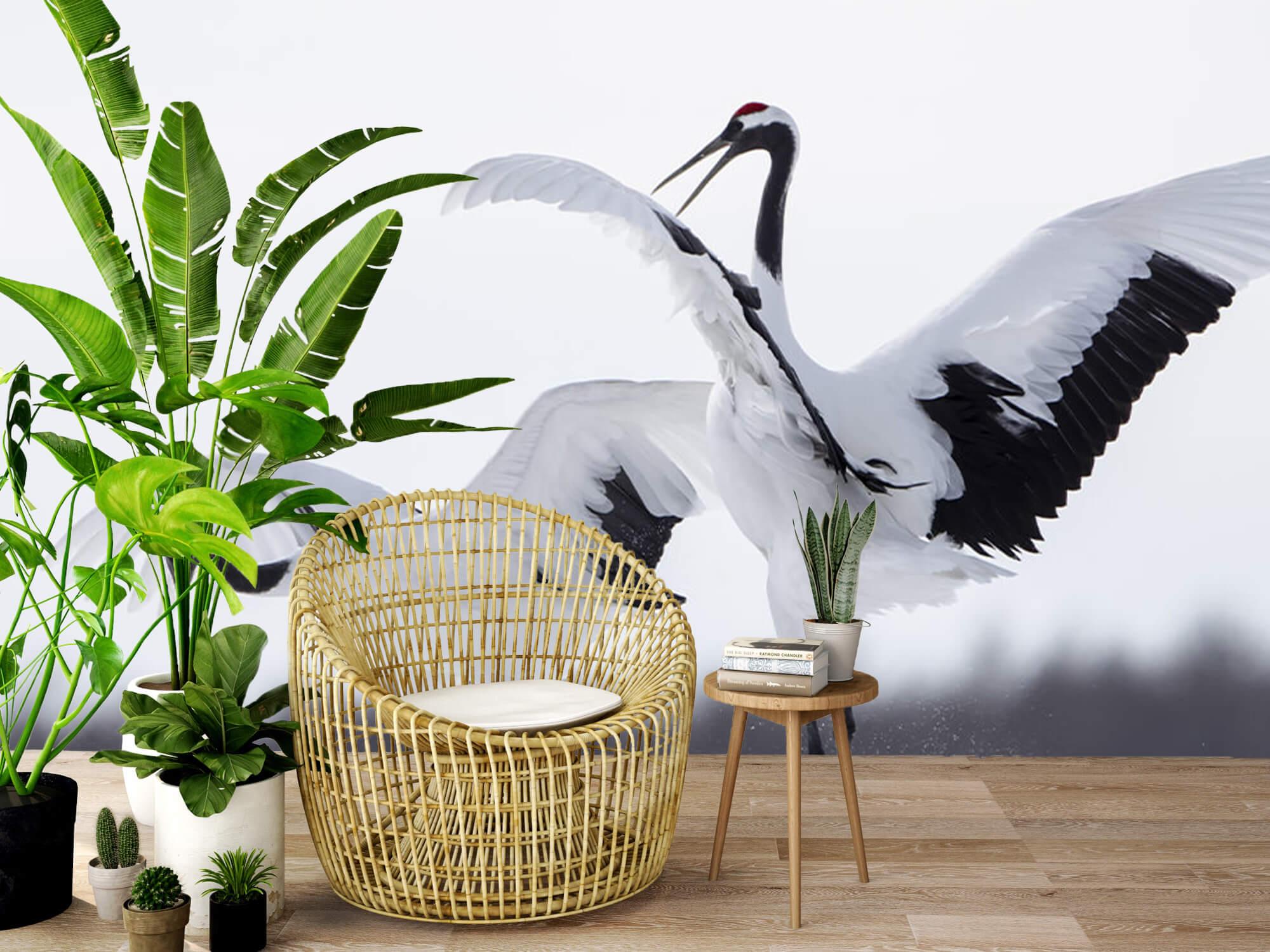 Spelende kraanvogels 7