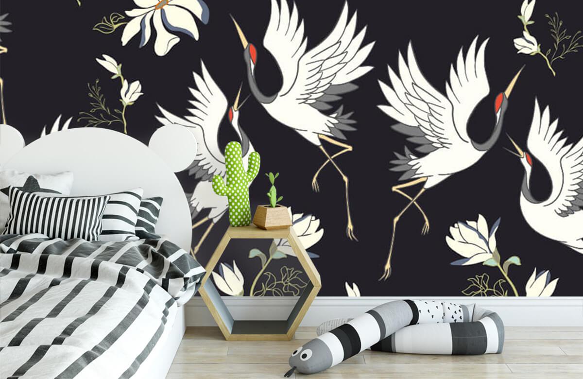 pattern Vliegende kraanvogels patroon 5