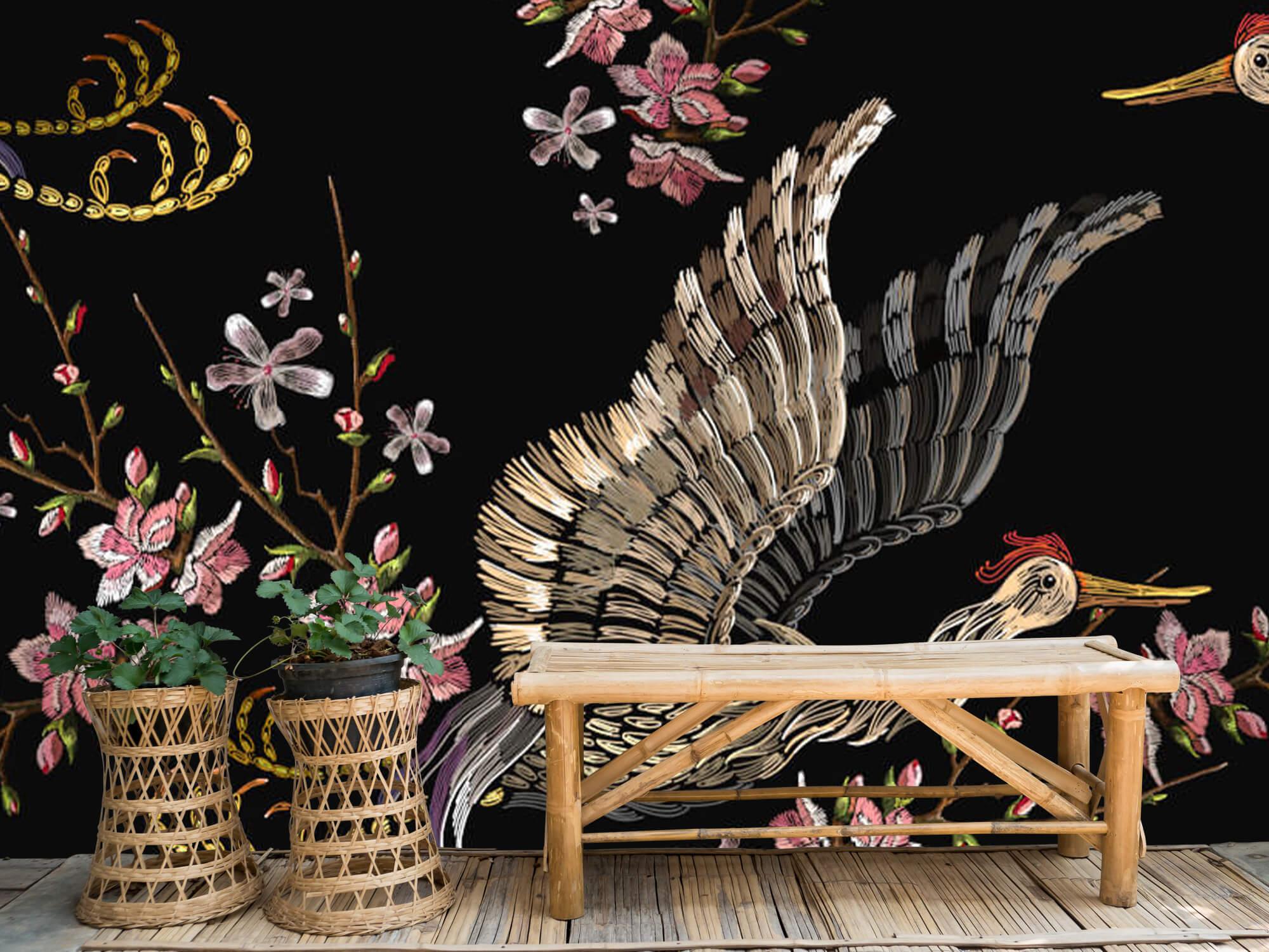 pattern Japanse kraanvogel 3