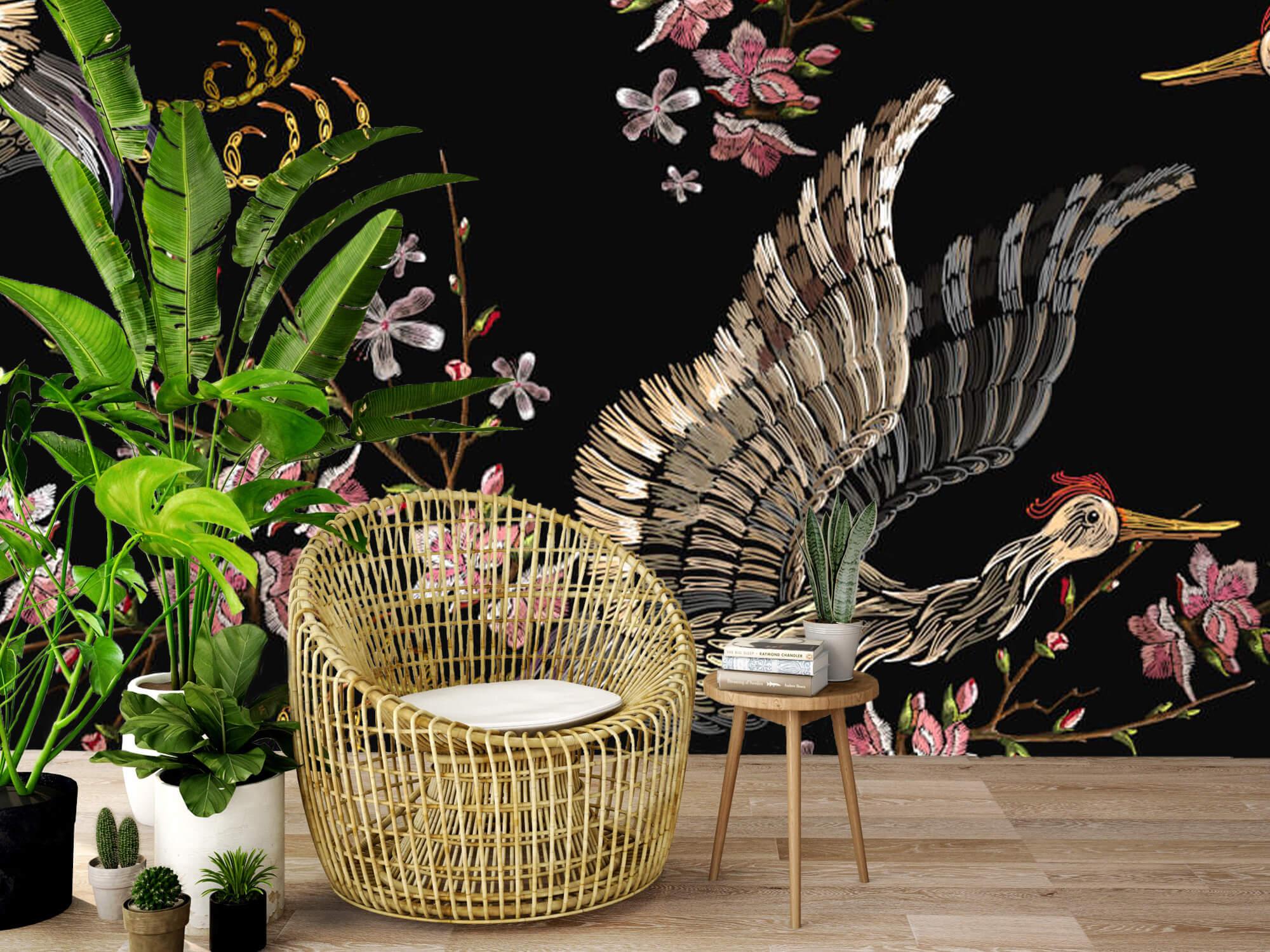 pattern Japanse kraanvogel 7