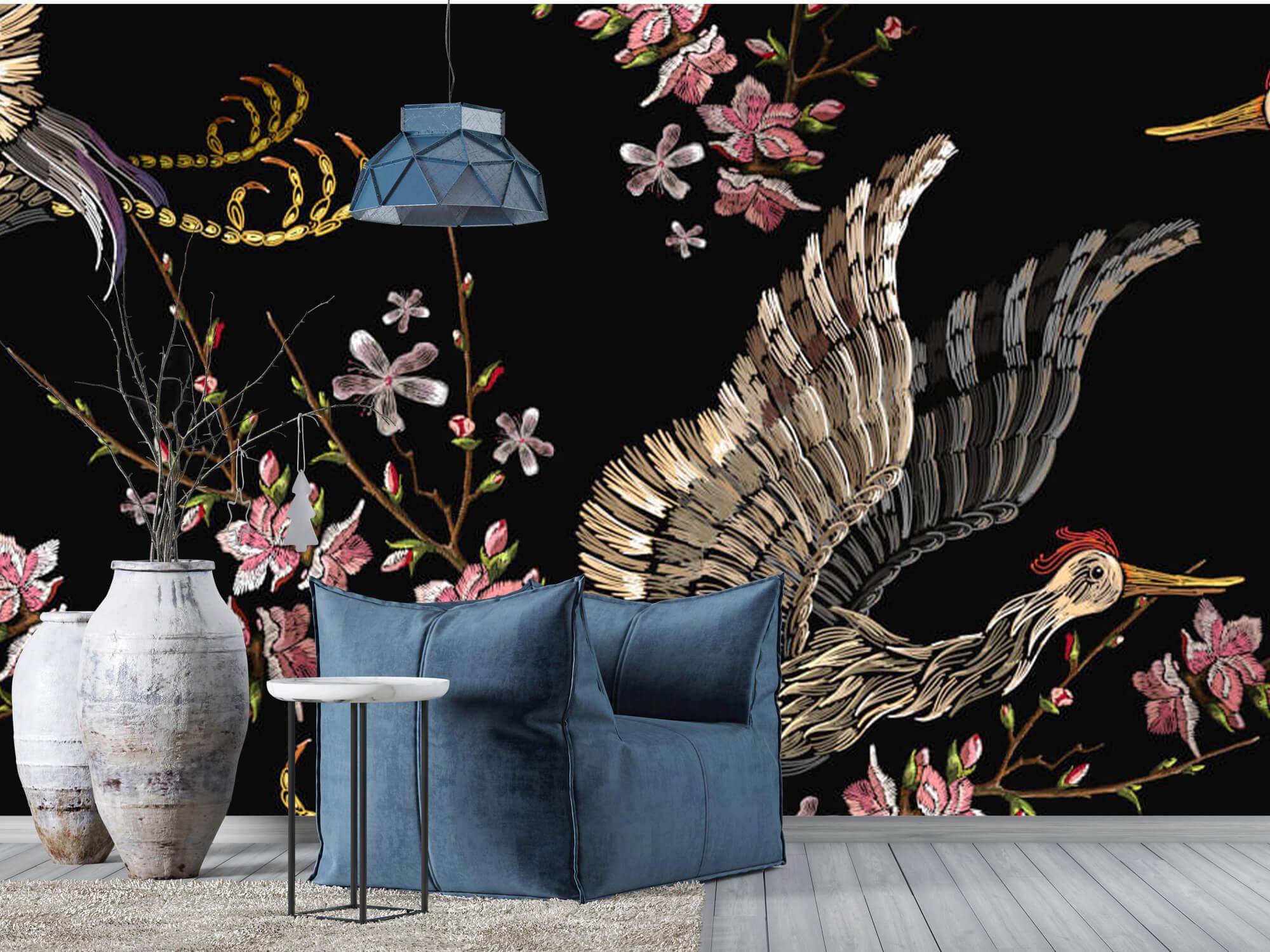 pattern Japanse kraanvogel 8