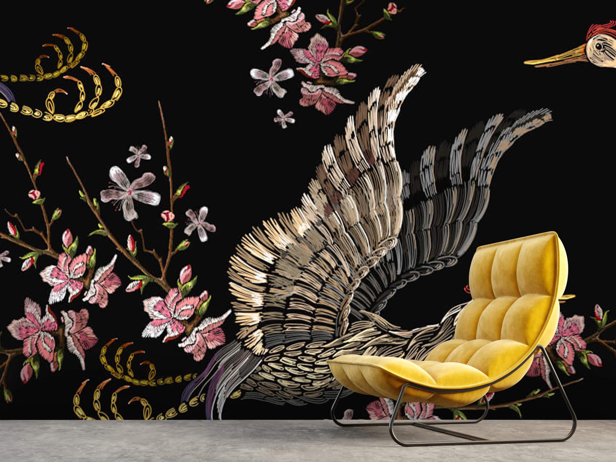 pattern Japanse kraanvogel 2