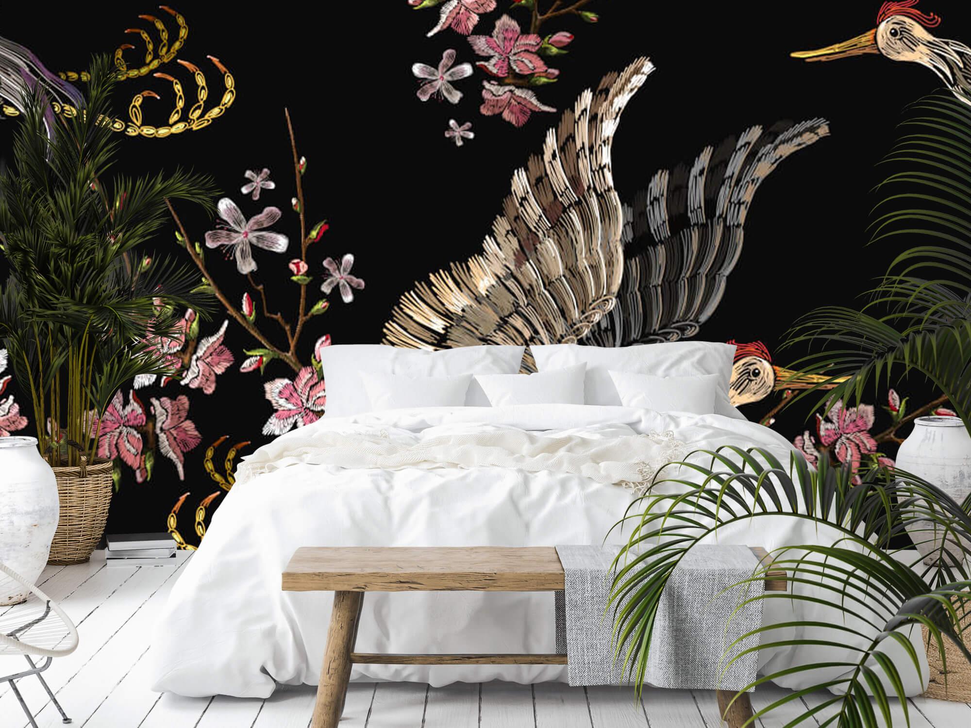 pattern Japanse kraanvogel 9