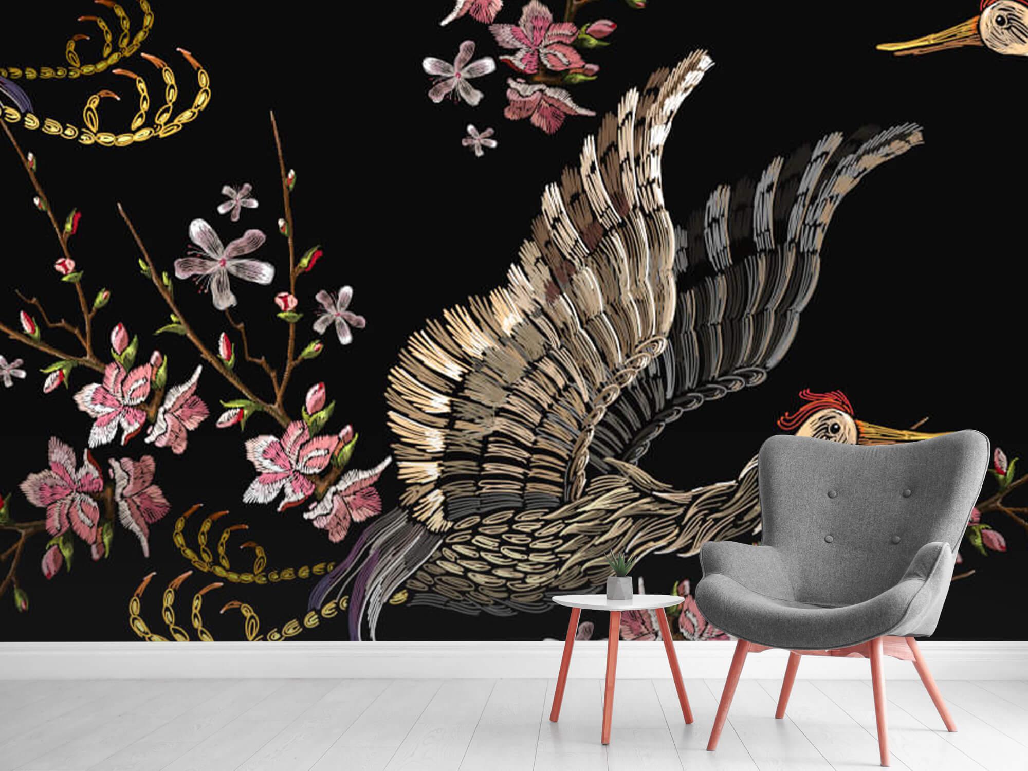 pattern Japanse kraanvogel 10