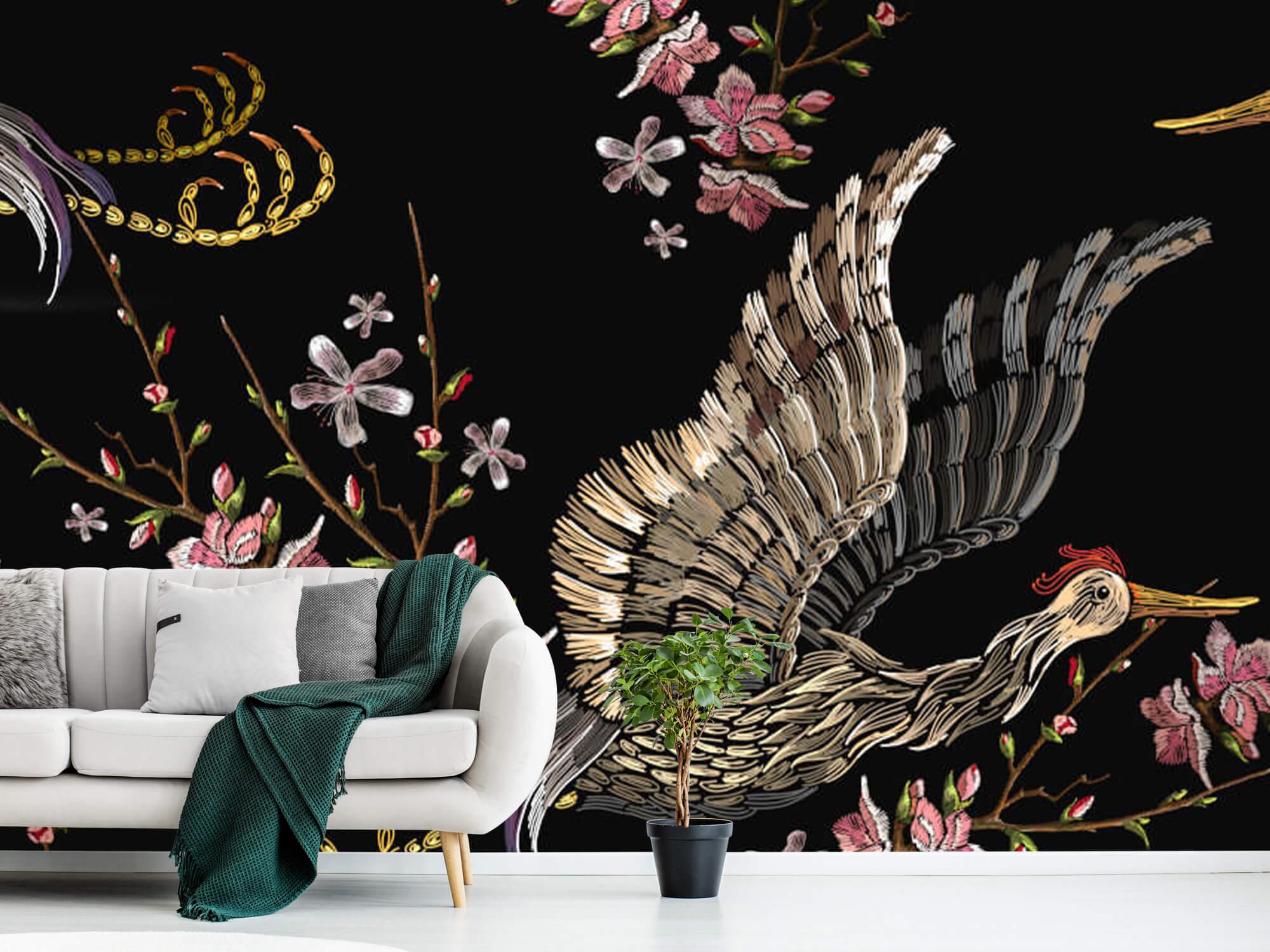 pattern Japanse kraanvogel 4