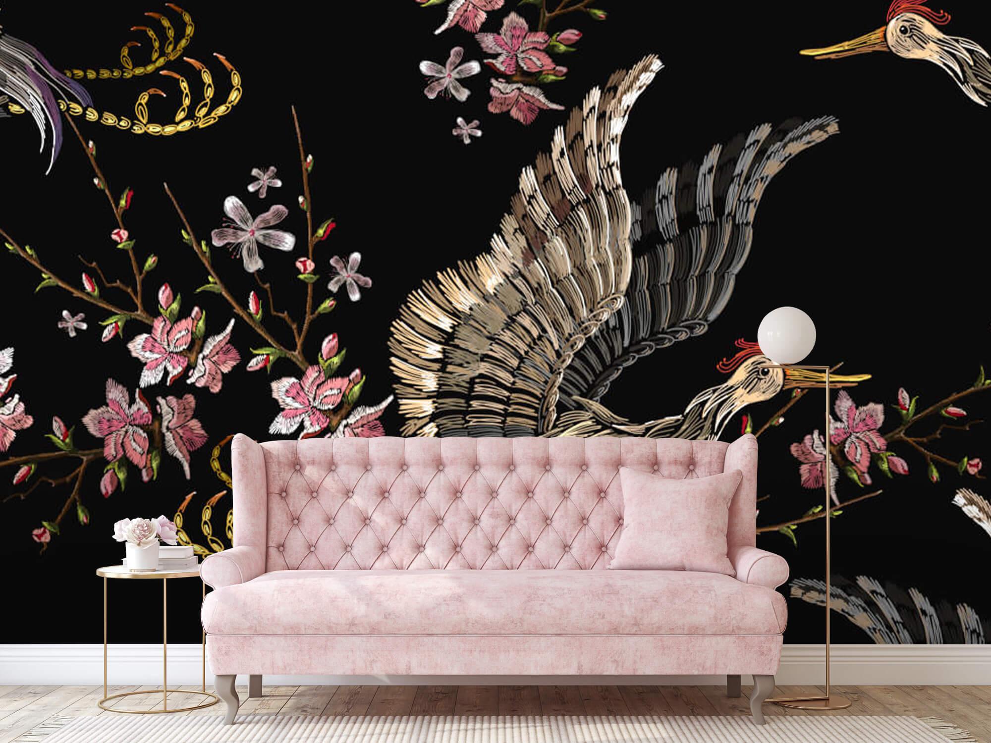 pattern Japanse kraanvogel 6