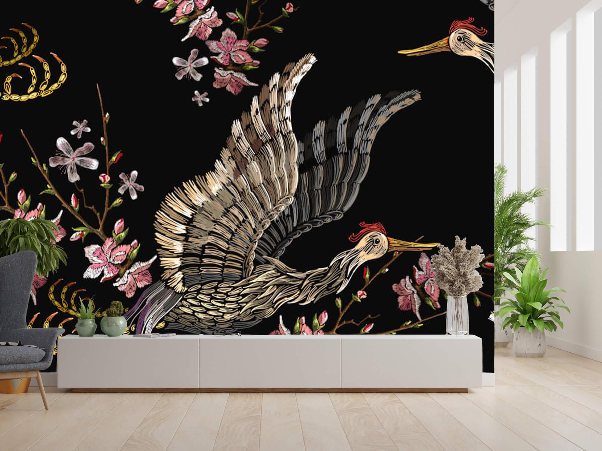 pattern Japanse kraanvogel 1