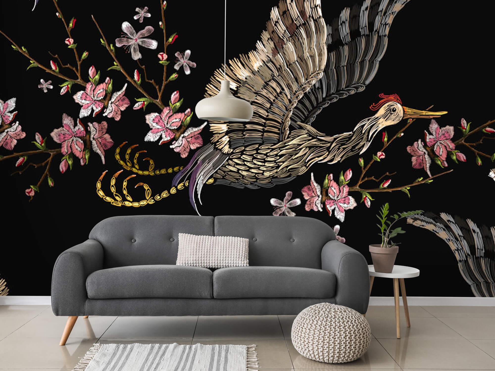 pattern Japanse kraanvogel 11